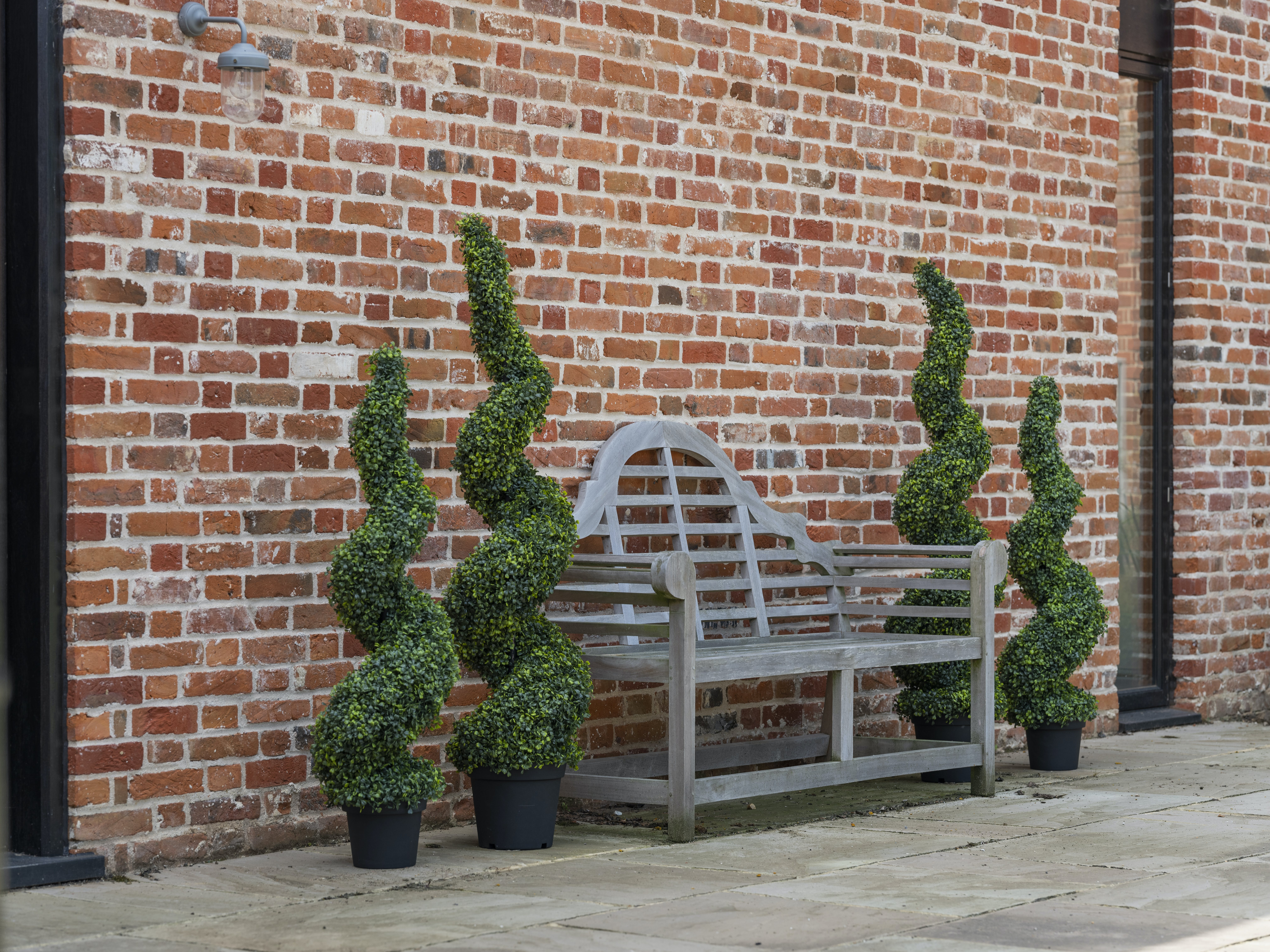 artificial topiary trees for outside and inside