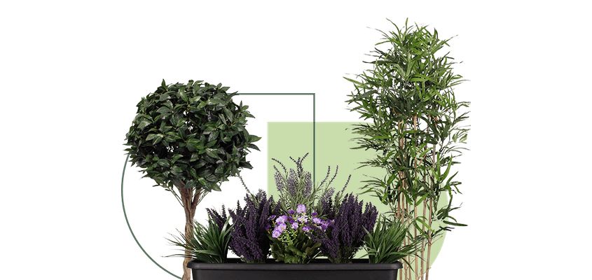 outdoor uv protected artificial plants