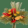 Artificial bahama mama bouquet