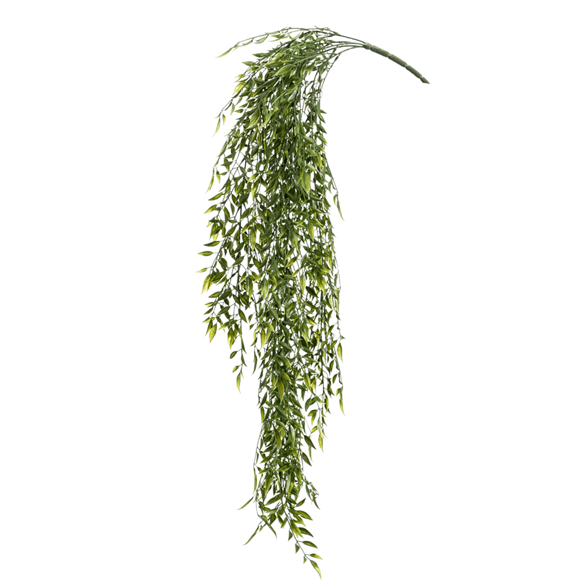 Artificial bamboo hanging bush