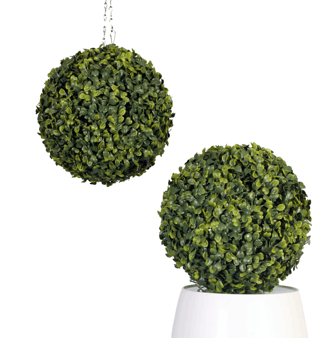 Artificial boxwood ball (pair) 22cm