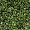 Artificial boxwood foliage green wall panel