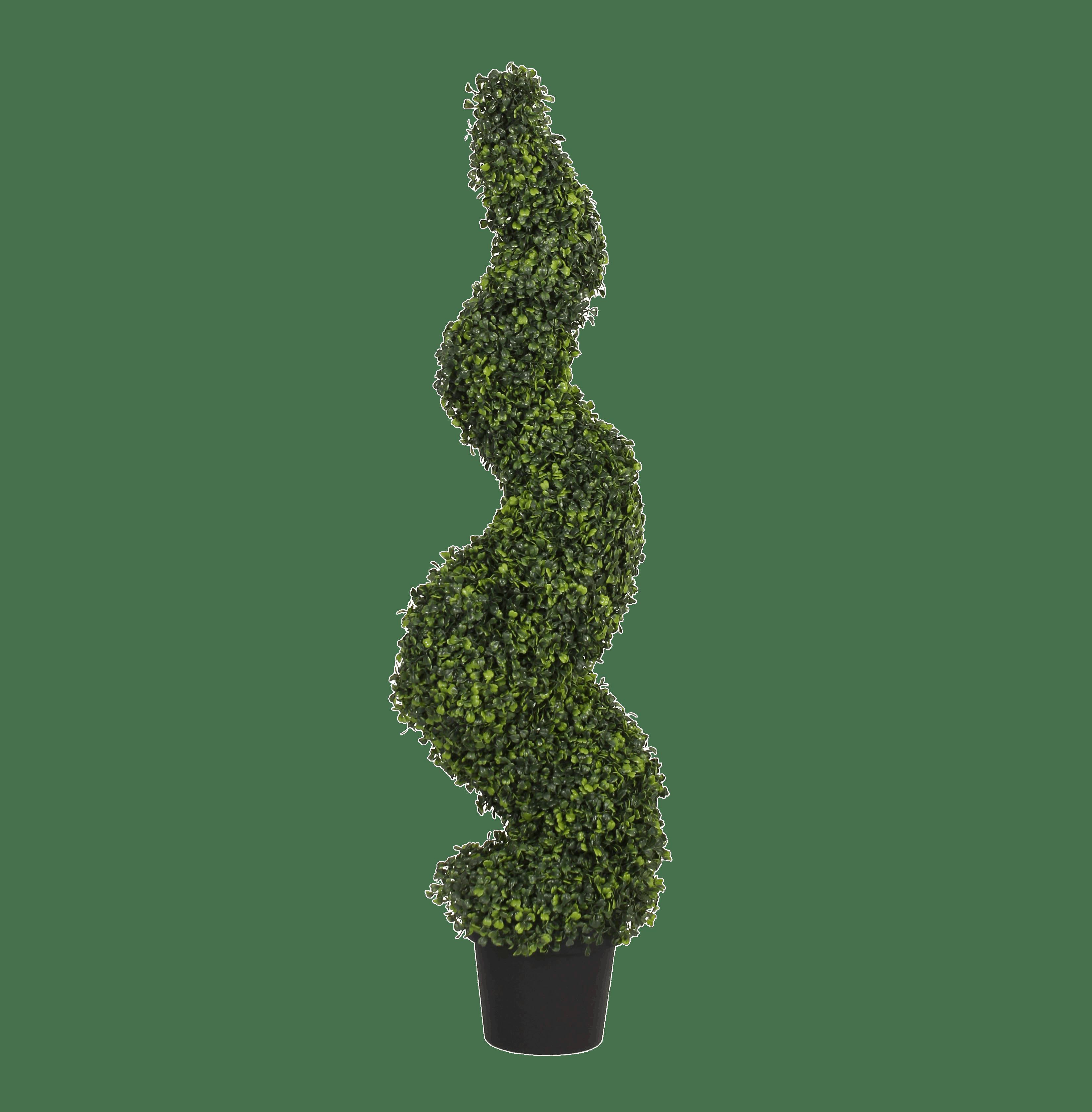 Artificial boxwood spiral 120cm