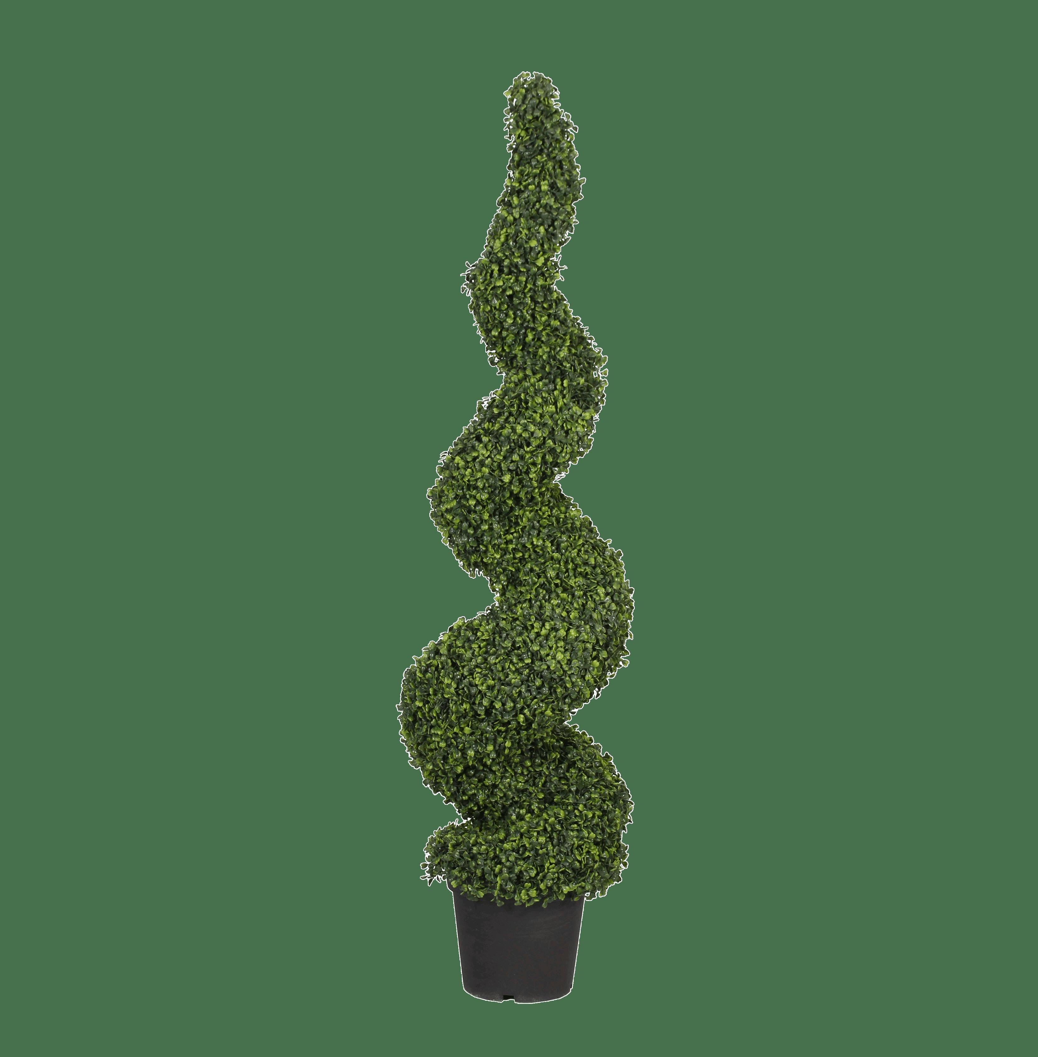 Artificial boxwood spiral 150cm