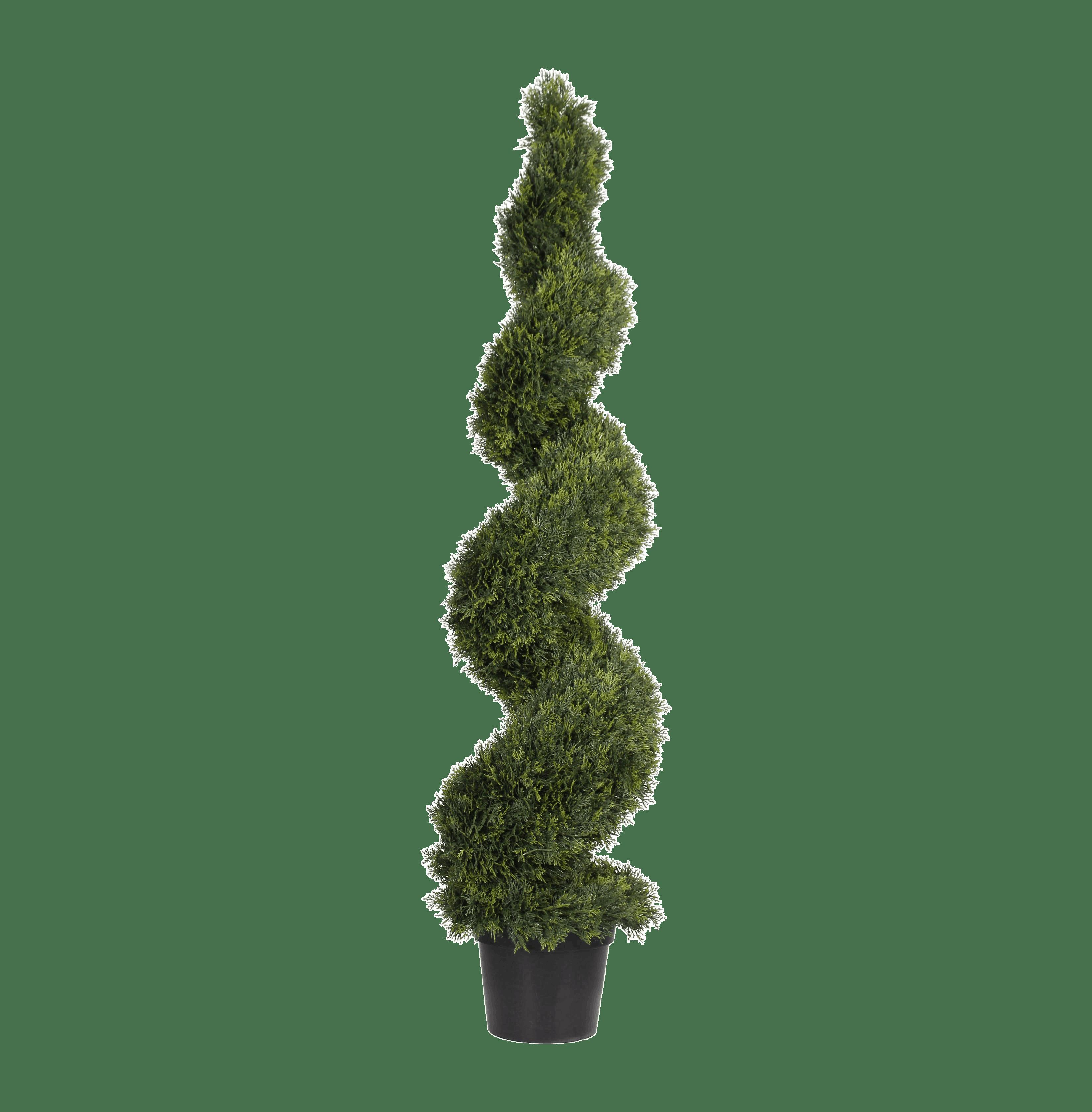 Artificial cedar spiral 175cm