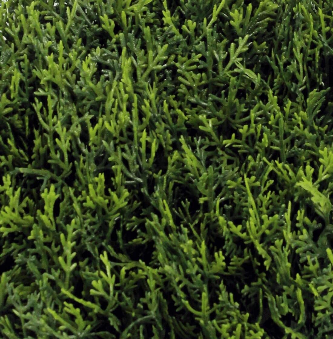 Artificial cedar mat