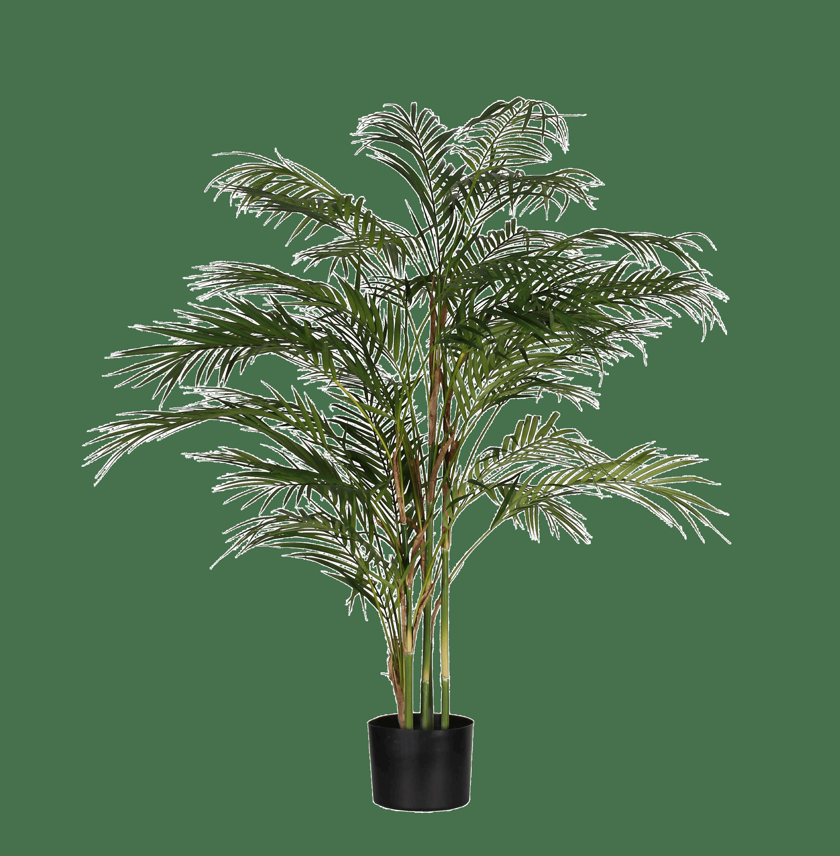 Artificial chamaedorea palm 120cm