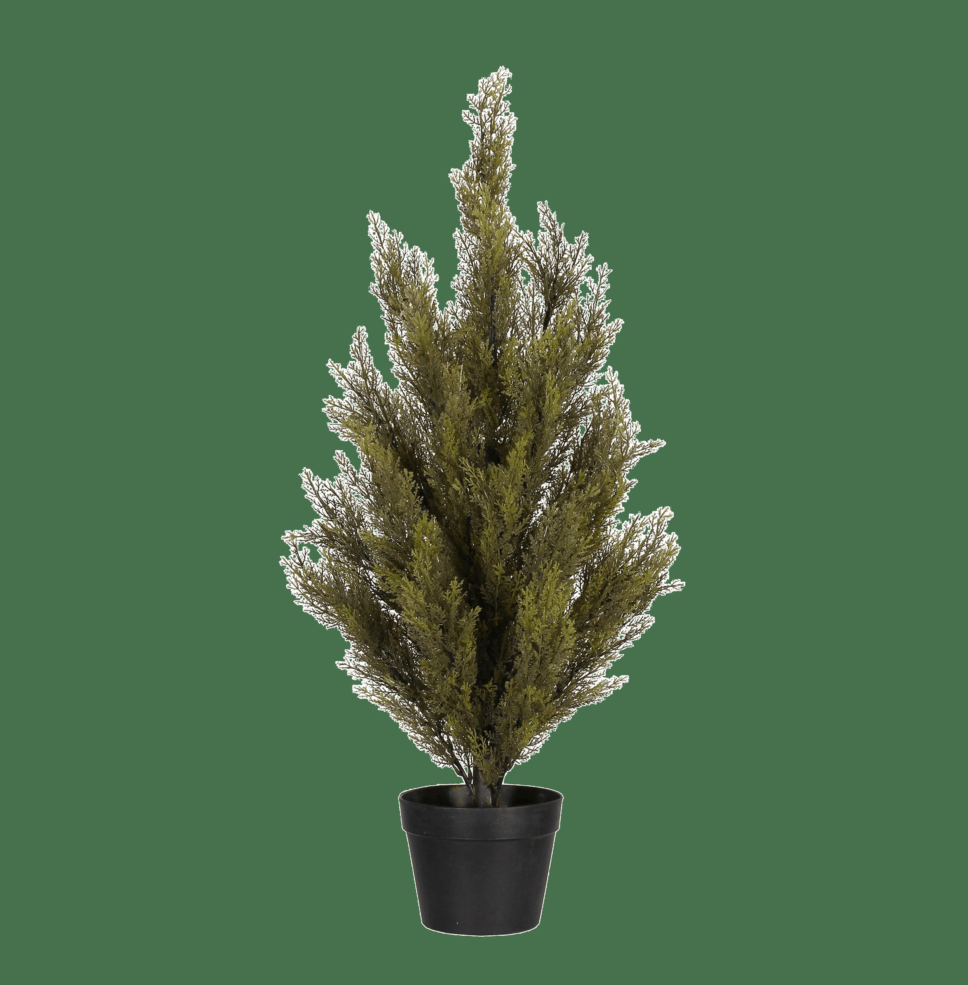 Artificial conifer tree 90cm