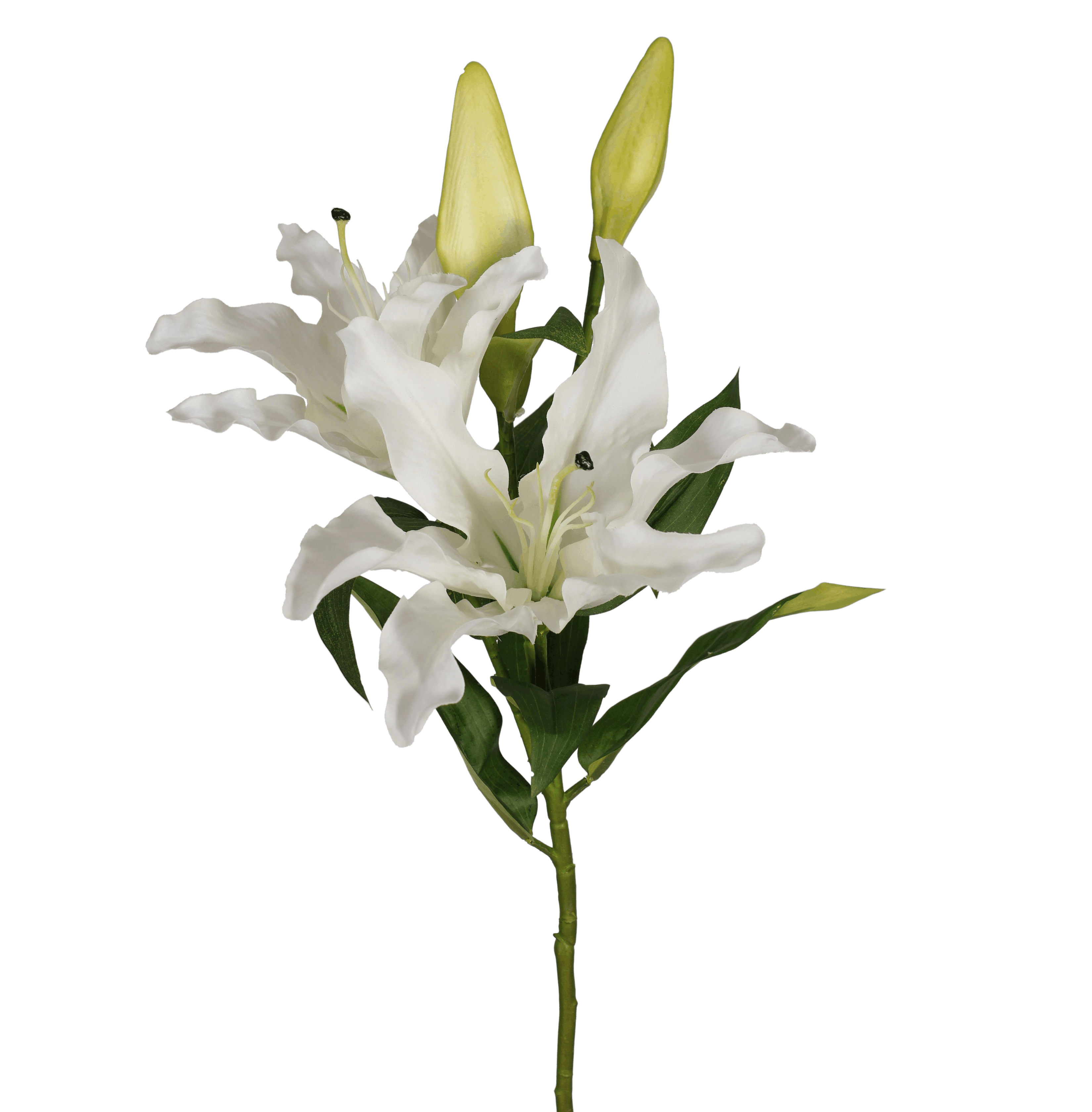 Artificial oriental lily stem