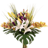 Artificial exotic bouquet