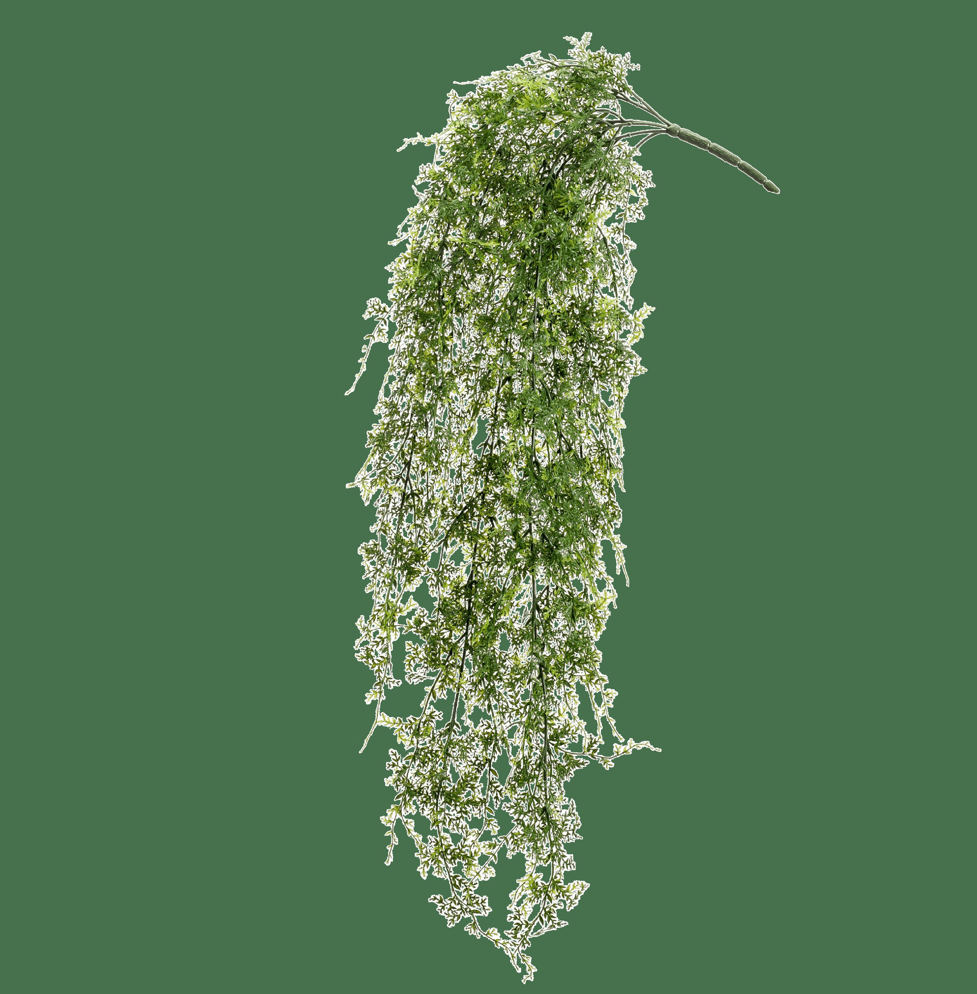 Artificial fern hanging bush
