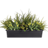 Artificial forest foliage window box
