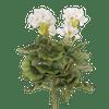 Artificial geranium bush white