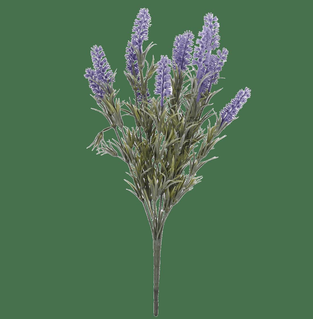 Artificial lavender bush