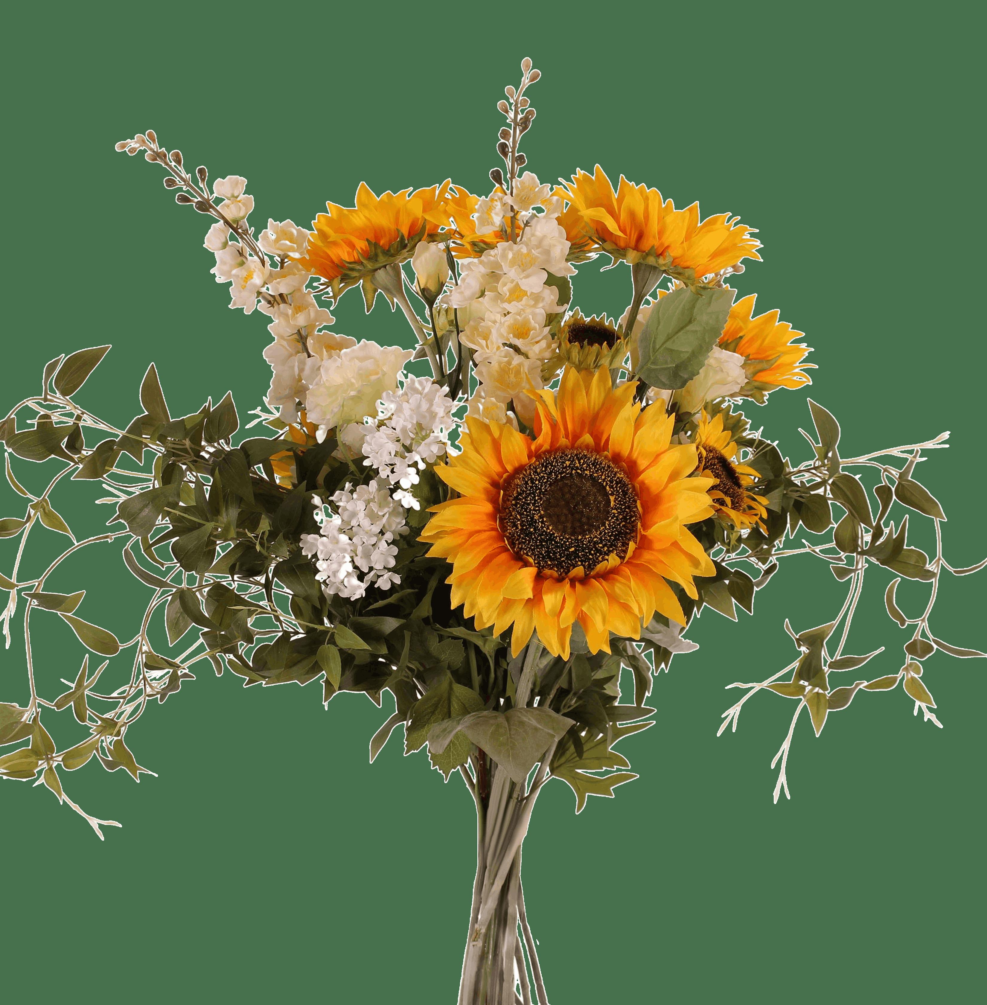 Artificial lazy days bouquet