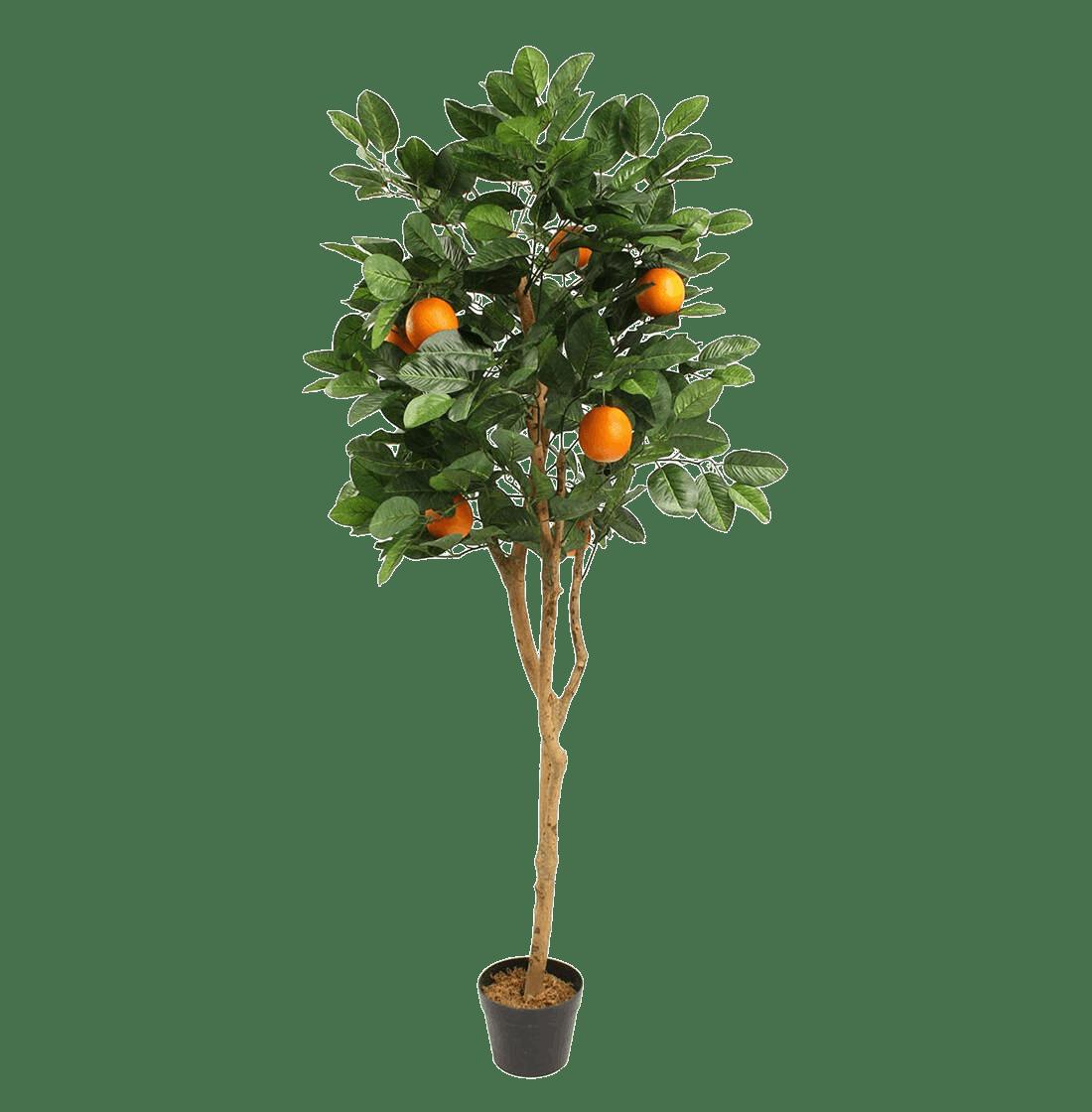 Artificial orange tree
