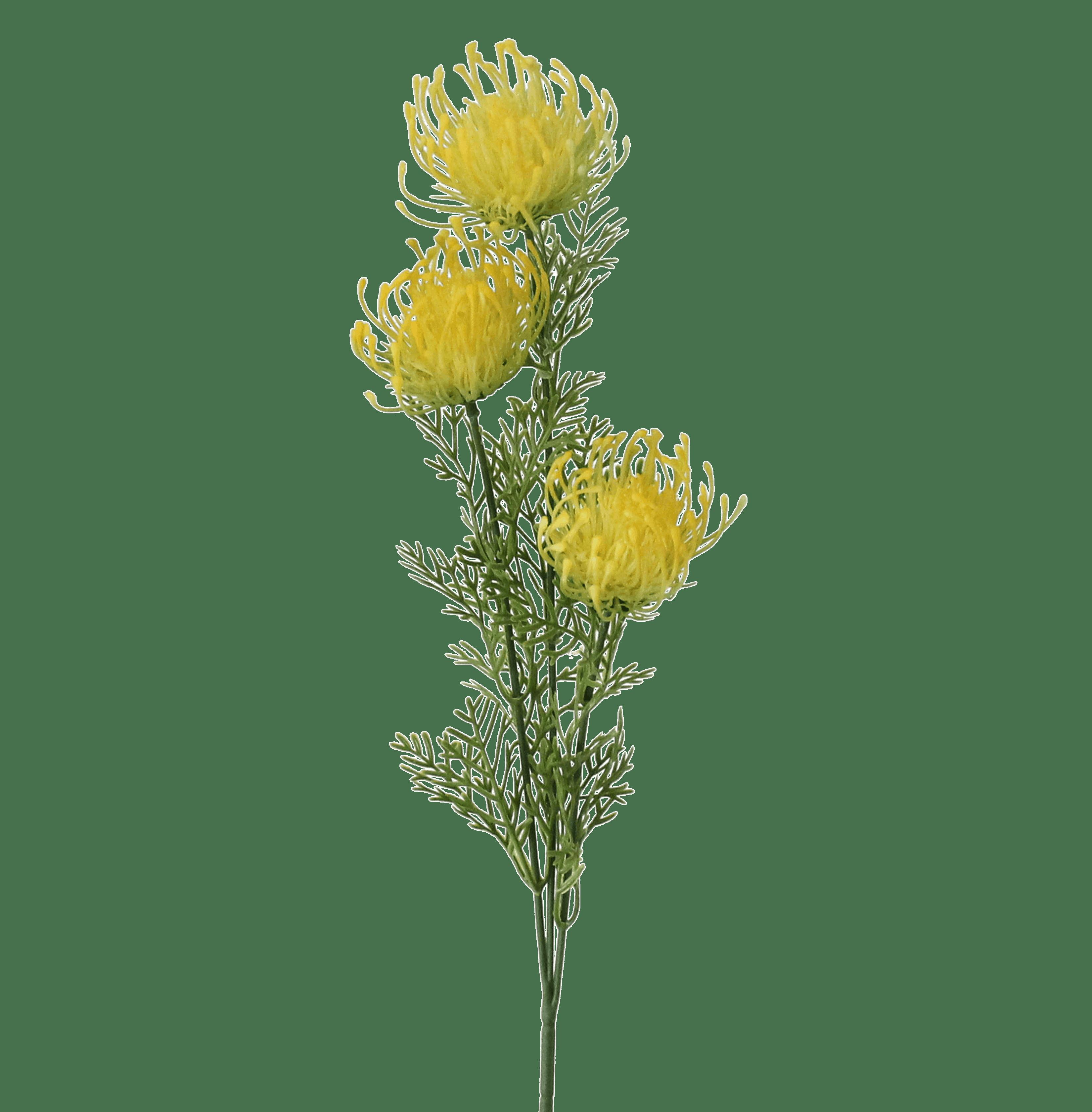 Artificial pincushion stem