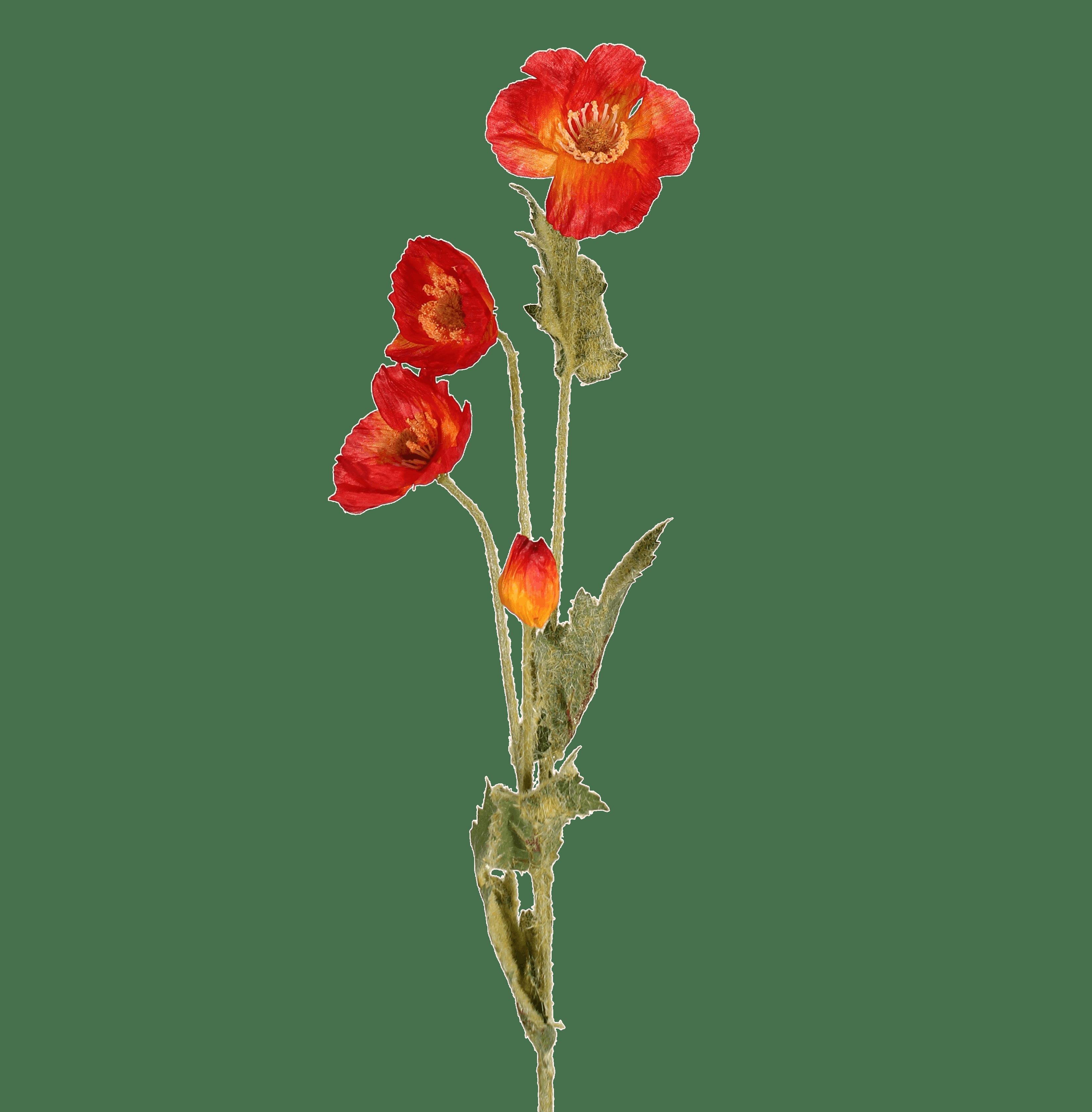 Artificial poppy stem