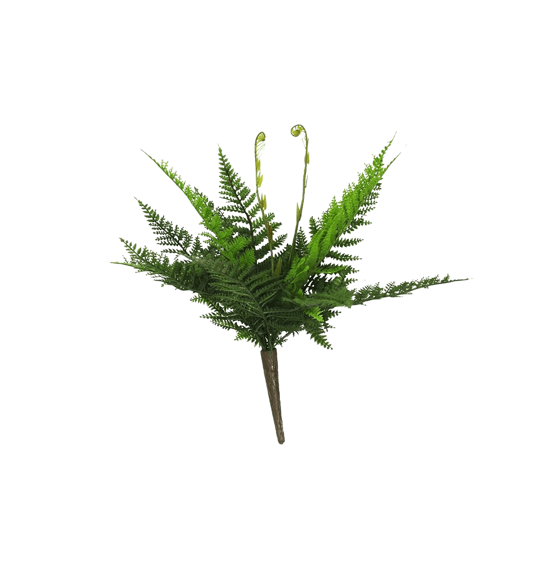 Artificial small fern plant